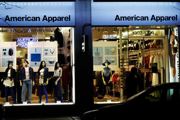 First of all, American Apparel is your go-to store for basics and everything denim.