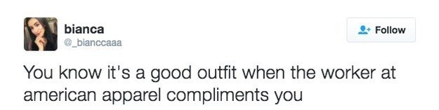 Nonetheless, you feel like you've ~made it~ when the staff compliment you and your outfit.