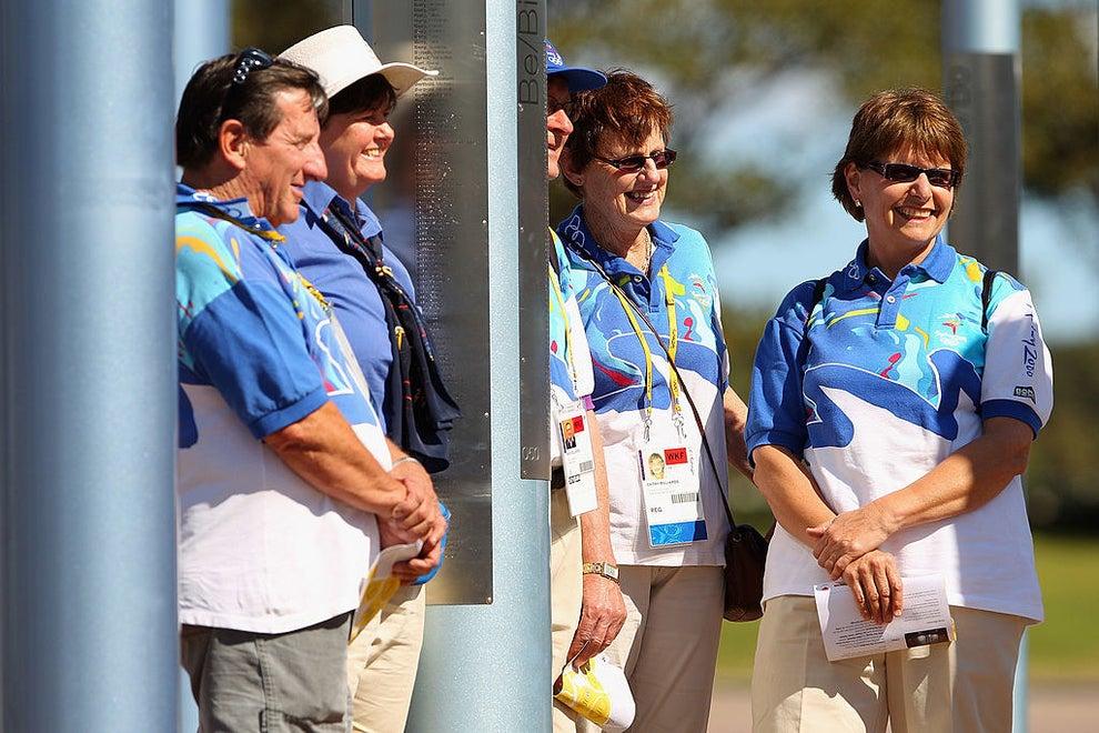 ボランティア ユニフォーム オリンピック