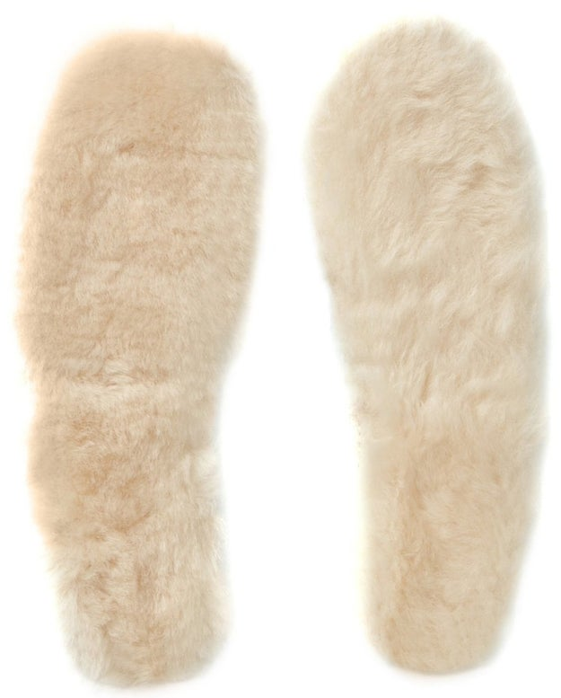 Tuck a pair of Ugg liners into your fashionable boots for an extra dose of warmth and cushion.