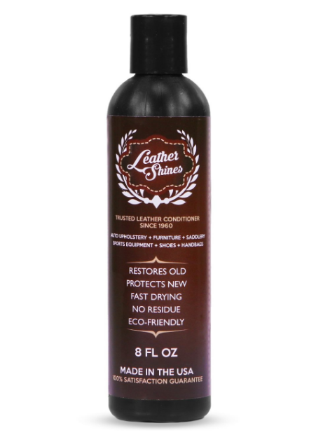 Keep your shoes looking spiffy with a leather conditioner that restores AND protects.