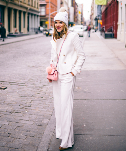 Break dumb rules by dressing in effortlessly cool winter white.