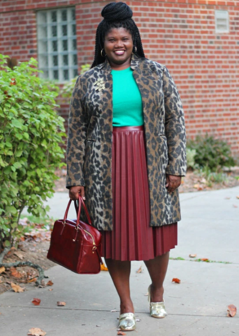 Try a leopard-print coat that makes literally every outfit look better.