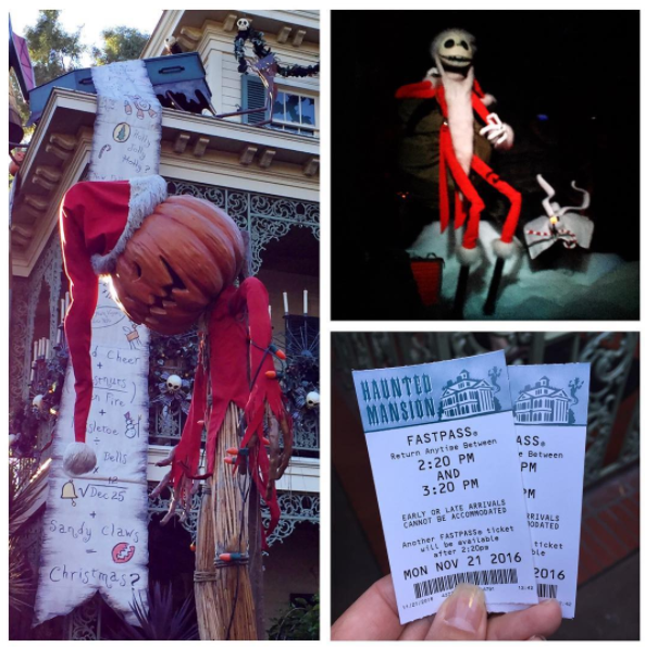 The Haunted Mansion Holiday brings Christmas and Halloween together.