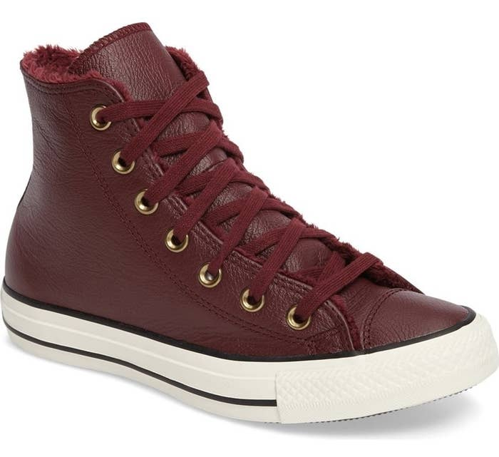 """Promising review: """"These shoes are comfortable, warm, and look even better in person! And shipping was quick. These shoes are perfect for winter."""" —AshmariemgrGet them from Nordstrom for $74.95. / Available in sizes 5-11. / Also available in Parchment."""