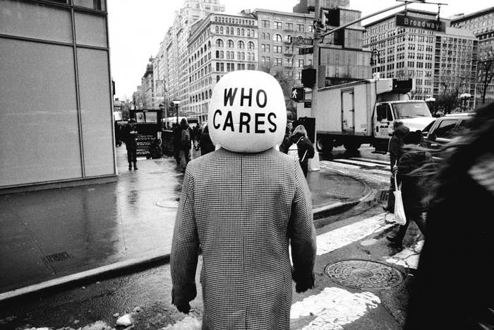 """Who Cares,"" New York City, 2015"