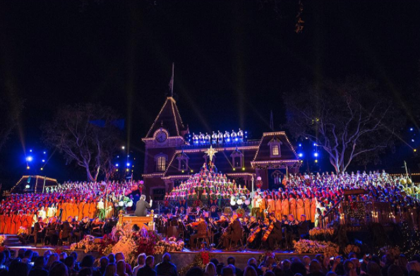 You'll also want to check out the Disney Candlelight Processional.