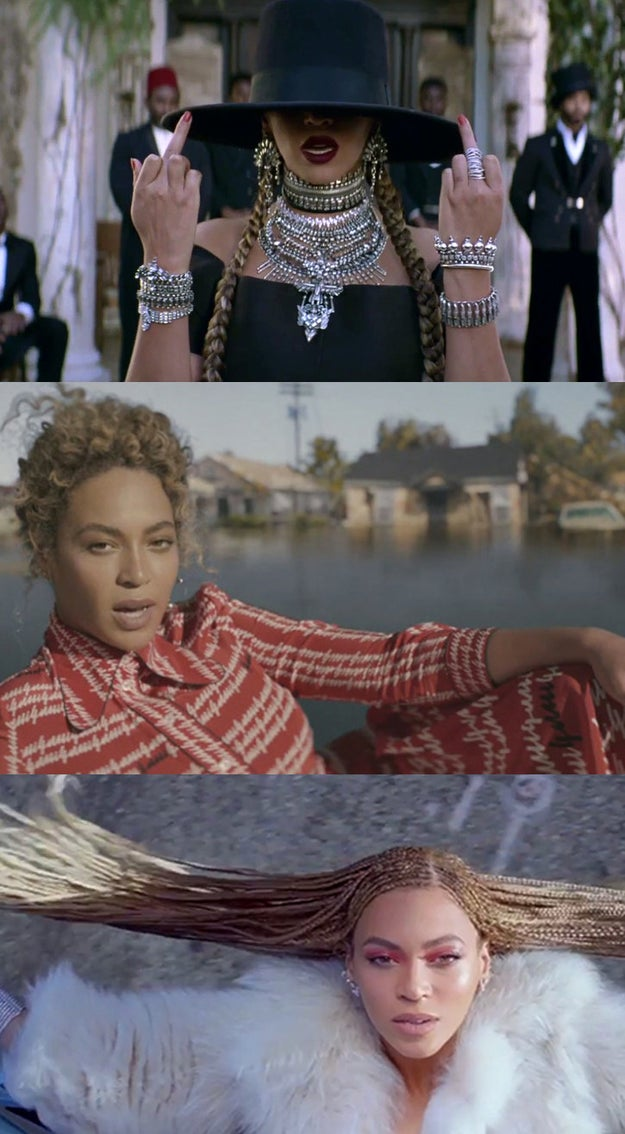 "In February, she kicked things off by dropping the music video for ""Formation"" which, as we all know, was instantly iconic."