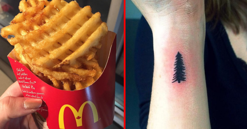 Your McDonald's Order Will Tell Us What Tattoo You Should Get