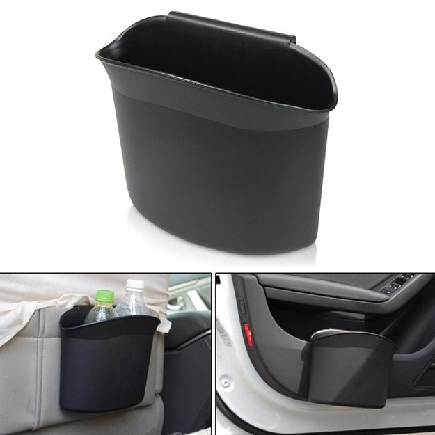 Make your own car-sized trashcan.