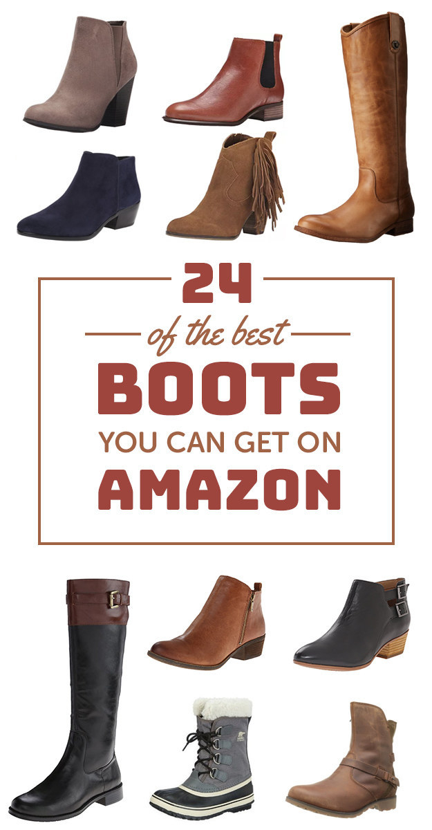Invest in a good pair of boots that 1) are comfy, 2) will actually last, 3) are super cute.