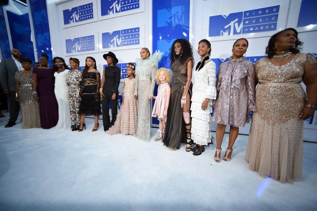Nor was being accompanied by a whole coterie of other important black women.
