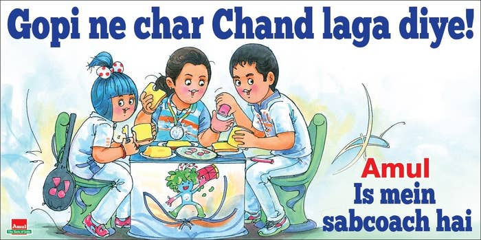 40 Times Amul Summed Up India In 2016 In Puns