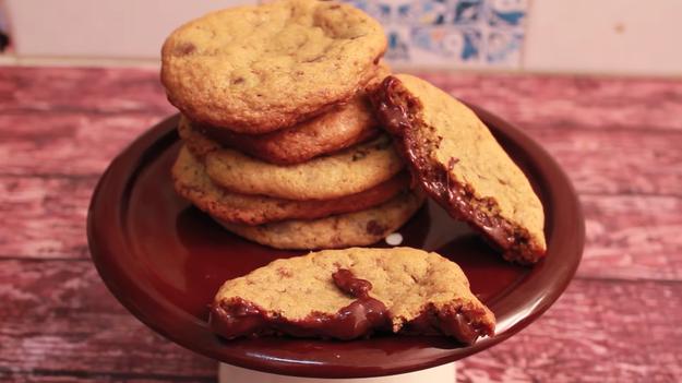 Hmmm, cookie de brigadeiro...