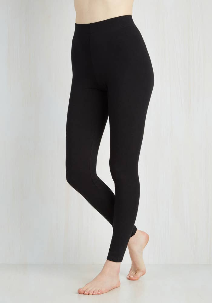 0bd33043494db8 Super high-waisted leggings that are not see through. At all.