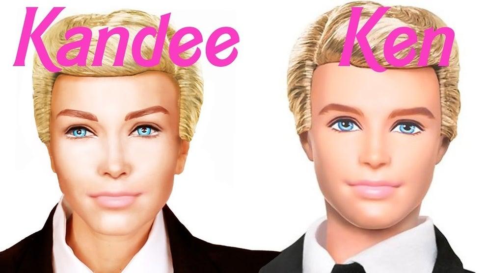 El mes pasado, la misma chica decidió convertirse en el novio de su popular primera creación: el carismático Ken.