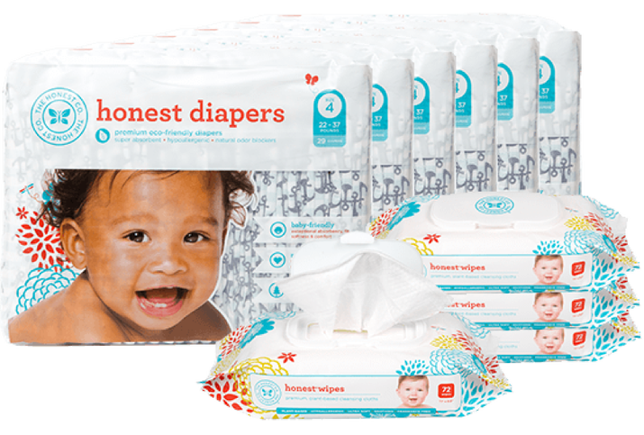 Get six packs of playfully designed diapers and four packs of wipes delivered like clockwork every month. Also, if you sign up for a bundle, you get 25% off any other diaper supplies from Honest.Diaper subscriptions with The Honest Company start at $80/month.
