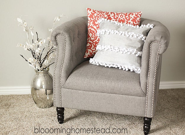 Make over your pillow with a slipcover!