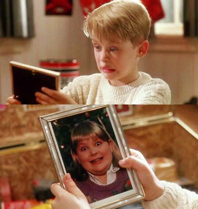 Y la imagen de la chica de Buzz en realidad es de un chico, porque Columbus no quería que ninguna niña se sintiera mal por su aspecto.