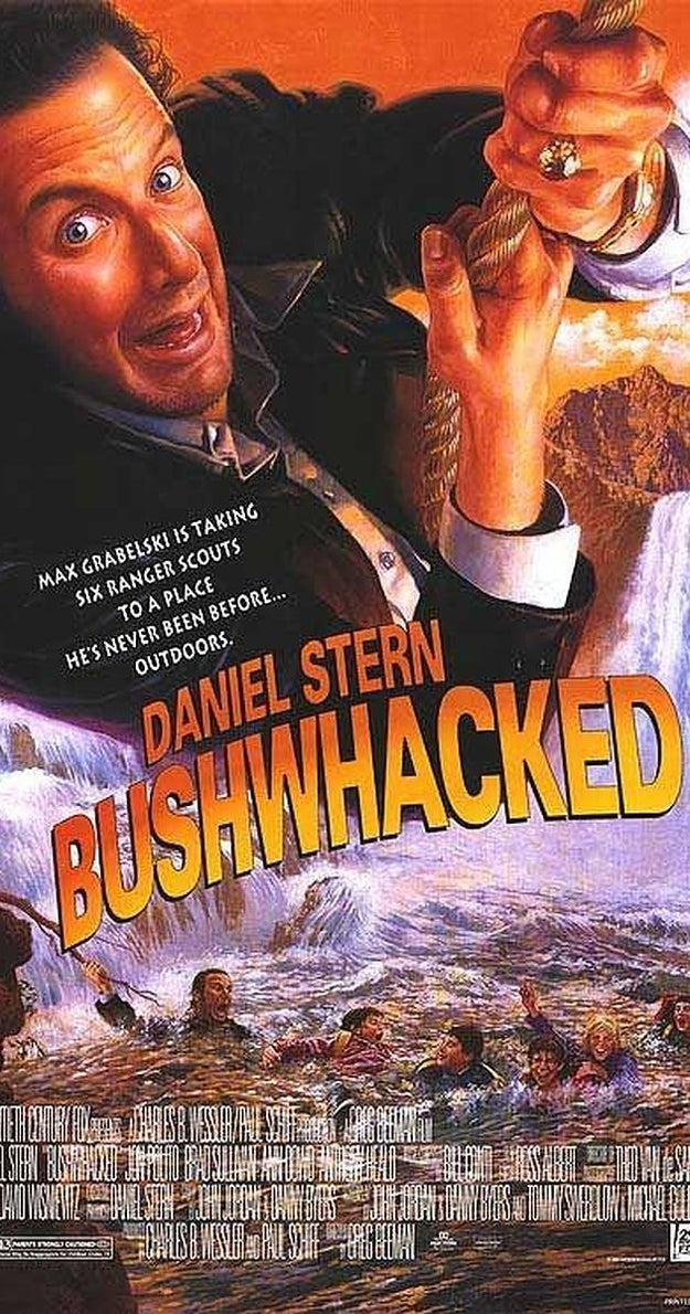 The movie Bushwhacked was originally conceived as a spinoff for Marv's character, but that concept was scrapped during production.