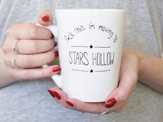 This Stars Hollow mug: