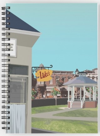 This Stars Hollow spiral notebook: