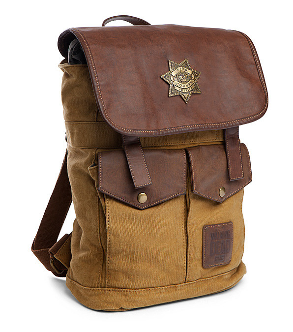 A Rick Grimes-inspired Sheriff backpack, so you can be the leader you were meant to be.