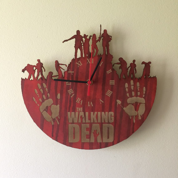 A clock so you'll never miss a Sunday night 9 p.m. episode ever again.