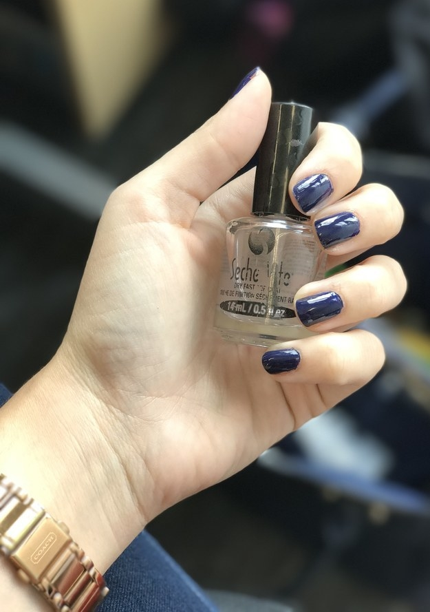 Try the Seche Vite top coat.