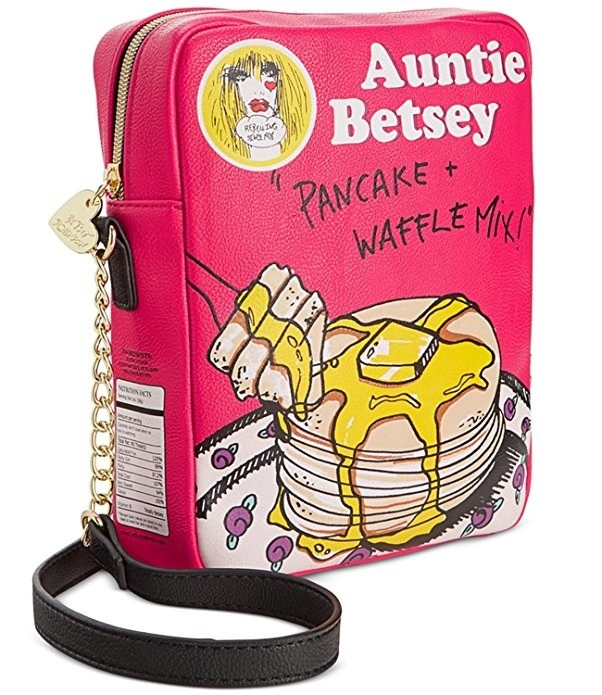 This purse so they can carry their favorite breakfast all day.