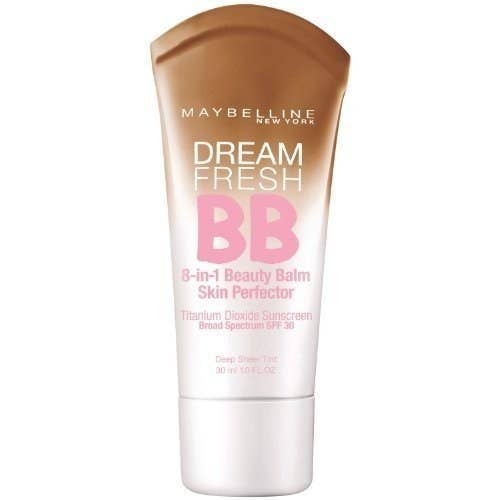 """""""Maybelline BB Cream with salicylic acid! Perfectly light and easy to throw on. I even put it on before bed and woke up with smaller pimples and smoother skin.""""—gizmoxcGet it here, for $9."""