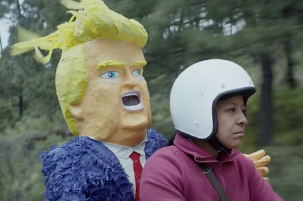 Here's A Short Film About A Mexican Mother Buying A Trump Piñata