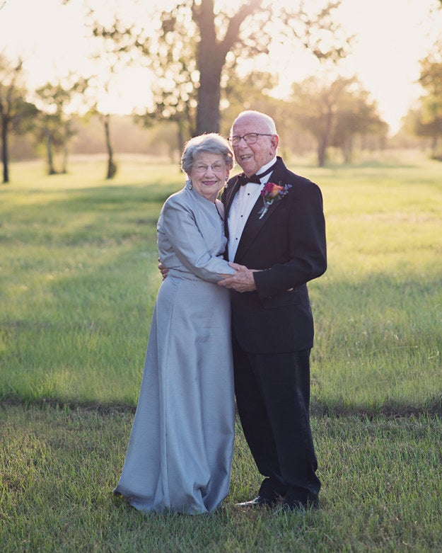 The high school sweethearts tied the knot six months after Ferris returned home from serving in World War II. Now, Margaret is 89 and Ferris is 90.