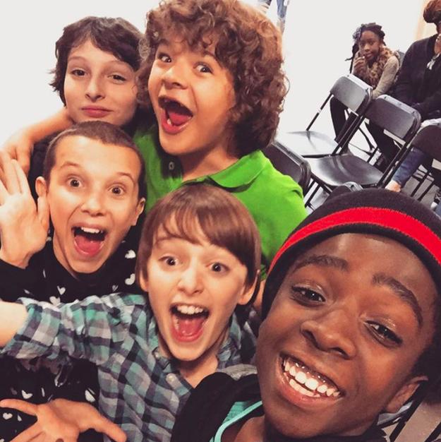 El momento exacto en el que se tomó esta selfie.
