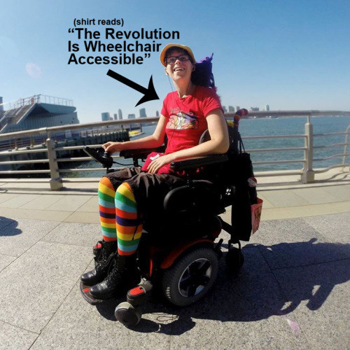 Michele Kaplan, Intersectional Activist, Artist, and Disabled YouTuber