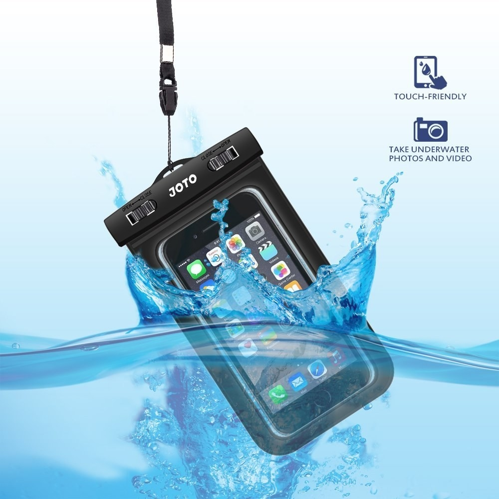 the waterproof phone case