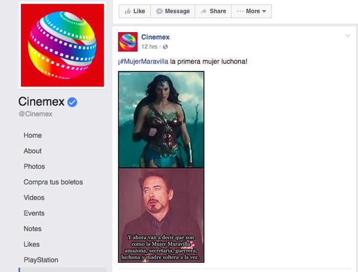 Lo subieron a sus cuentas de Facebook y de Twitter. En la primera alcanzó más de 8,000 shares y en la segunda tuvo más de 500 retweets.