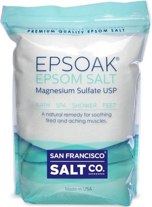 a bag of epsom salt