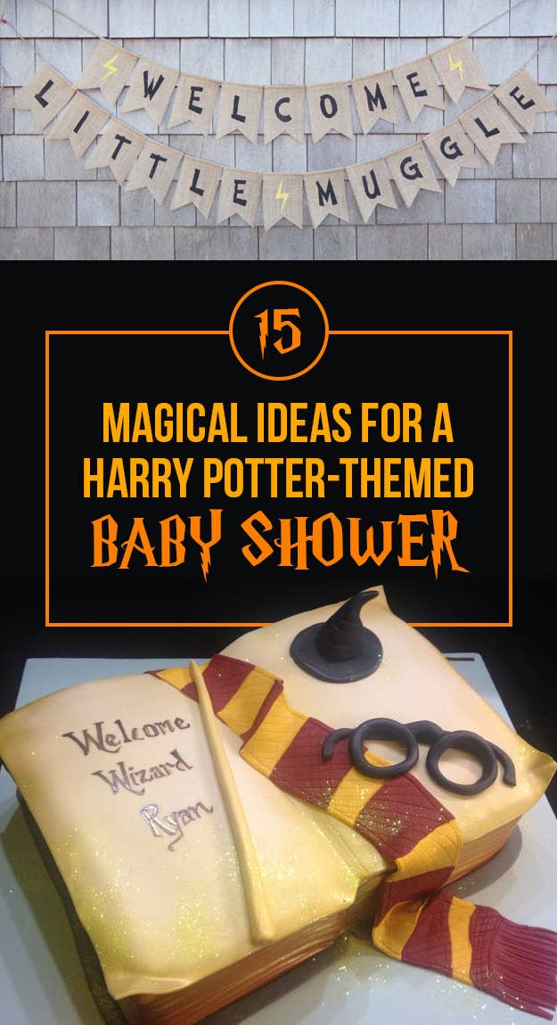 15 Magical Ideas For Throwing The Perfect Harry Potter Themed Baby