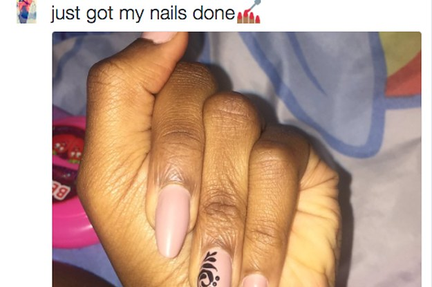 This Girl Took A Photo Of Her Nails And Became An