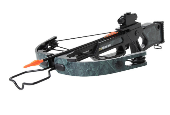 A replica of Daryl's iconic crossbow to get your zombie-hunting practice in.