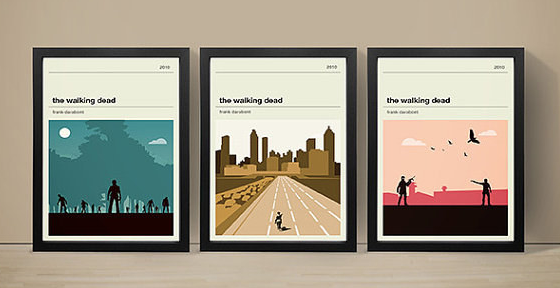 A set of Walking Dead posters to zombie-ify your wall.