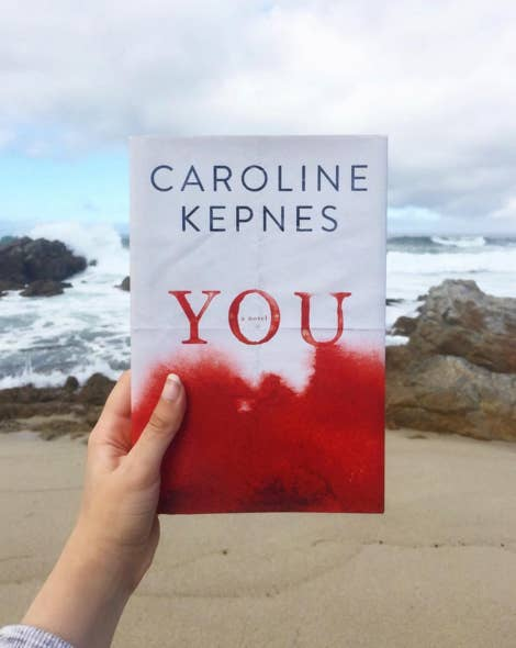 """I just finished reading You by Caroline Kepnes and WOW! It was a page turner! I felt kind of creeped out after reading it and unsettled by strangers, but it was worth it. The book is about a guy who meets this girl and falls completely smitten, and starts trying to insert himself into her life so she can fall in love with him. It's not a romance book and it's not for everyone – there are a couple of graphic sex scenes."" —J DaniV Tee, Facebook"