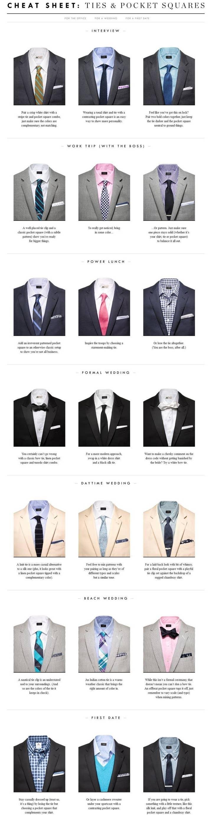 Mens Suit Shirt Tie Combinations Bcd Tofu House