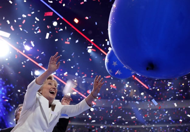 hillary clinton cancels fireworks election night