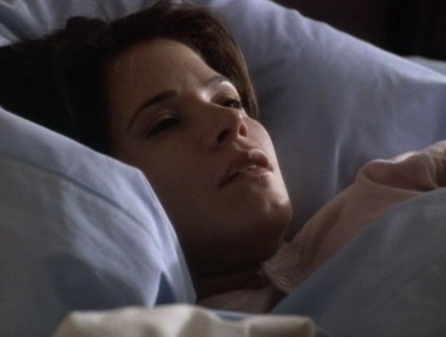La mujer que despertó una mañana con su vida alterada ligeramente de forma repentina.
