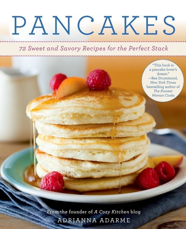 This cookbook with all the ways they can enjoy the perfect stack.