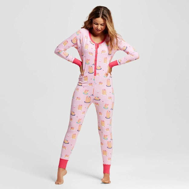 These pancake pajamas that will totally be the one(sie) for them.