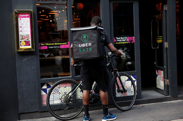 how to complain about an uber eats order