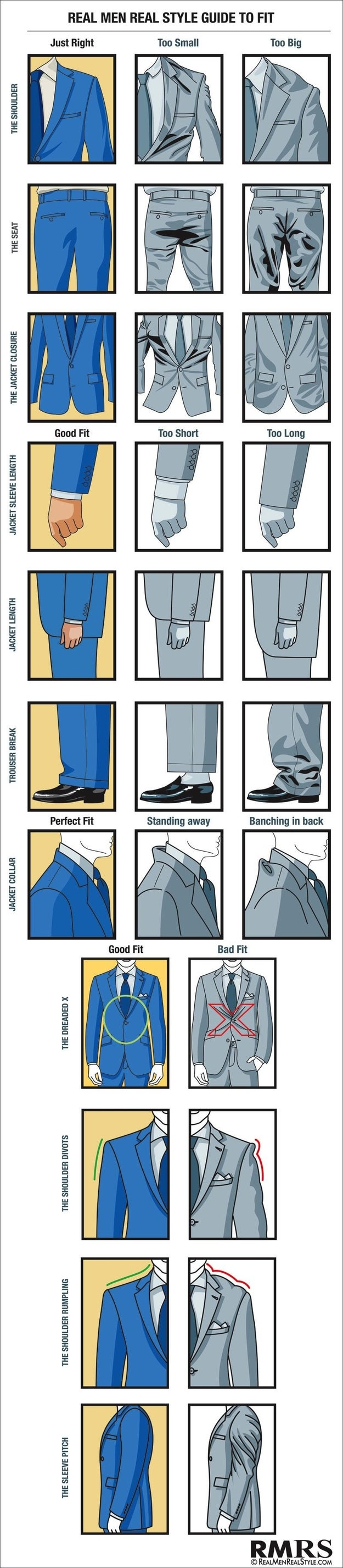 If you're gonna splash out on a suit, better get one that fits.